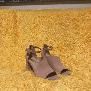 Franco Sarto Powder Pink Dress Heeled Sandals
